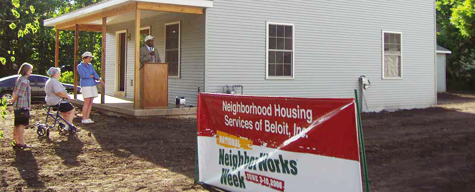 NHS Beloit Builds Homes